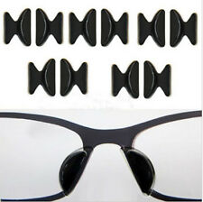 5 Pair Anti-Slip Stick On Nose Pad Silicone Pad For Eyeglass Spectacles Sunglass