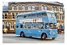 pt8587 - Walsall Trolleybus 850 in Town Centre - photograph 6x4