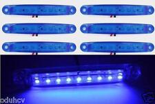 6x 9 LED BLU 24V LATO LUCI DI INGOMBRO PER CAMION IVECO scania daf volvo