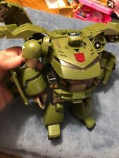 Transformers Animated Bulkhead Leader Class INCOMPLETE Hasbro