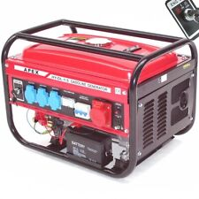 Elektro-Start Benzin Stromerzeuger 9500E Generator 230V 400V Stromaggregat 66265