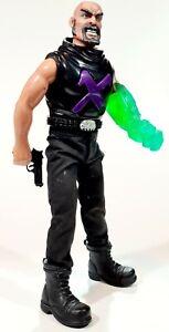 "©1997 Hasbro ACTION MAN 12"" Toyfigure ELECTRONIC DOCTOR X Villain Dr X/Bösewicht"