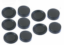 5pcs x Rear Lens Cover + Camera Body Cap for Nikon DSLR replaces LF-1 BF-1B