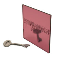 Pink Acrylic Mirror Perspex® Plastic Sheet Panel Material A5, A4 & A3 3mm Thick