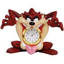 Looney Tunes Taz Mouth Mini Clock Figurine 3-1/4 Inch- Westland Giftware
