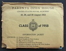 US Naval Academy Class of 1958 Information Jacket Lot - Annapolis, MD