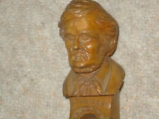 Very old, big Bass / harp guitar /   lute / mandolin w. head of Richard Wagner!