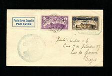 Zeppelin Sieger 209+214 1933 Italy +2nd South America flight combo SanMarinoPost