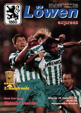 DFB-Pokal 95/96 TSV 1860 München - Eintracht Frankfurt, 19.09.1995