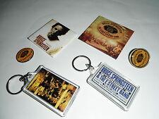 Bruce Springsteen - memoribilia 6 piece lot seeger sessions e street magic