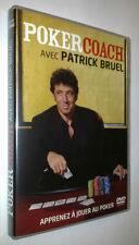 DVD POKER COACH PATRICK BRUEL - TEXAS HOLD'EM -
