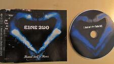 Eins Zwo/Hand aufs Herz 1999  1 Track Promo/MCD