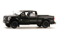 "Ford F250 Pickup Truck - Crew Cab - 6 Ft Bed - ""BLACK"" - BLACK OUT 1/50 - Sword"