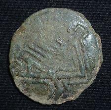 Moneda de bronce del emperador bizantino Juan V Palaiologos-Circa 1331-1371 ad-A625