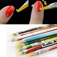 Tools Art Gems Wax Resin Rhinestones Nail Art 1Pcs Pencil Pen Crystal Pick Up