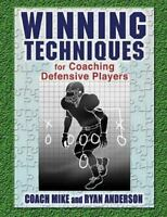 Winning Techniques for Coaching Defensive Players, Paperback by Anderson, Rya...