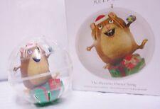 2012 HALLMARK The Hamster Dance Song Magic Musical Ornament NEW IN BOX