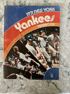 1971 New York Yankees Yearbook