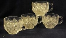 McKee Majestic pattern punch cup cups lot of 4
