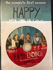 Happy Endings - Season 1, Disc 1 REPLACEMENT DISC (not full season)