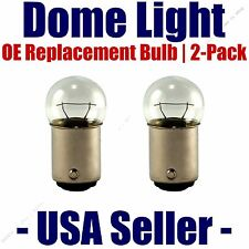 Dome Light Bulb 2-Pack OE Replacement - Fits Listed Buick Vehicles - 90