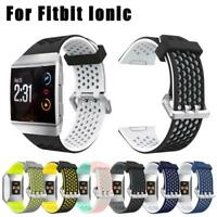 For Fitbit Ionic Smart Watch Bands Strap Soft Replacement Bracelet Wrist Band