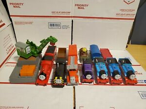 Lot of 7 Thomas The Train Trackmaster motorized  Engines +TendersTested (2009)