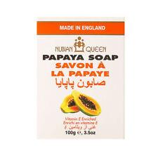 NUBIAN QUEEN Papaya Soap 100g / Vitamin E Enriched / 3.5oz