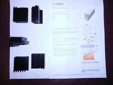 Kühlkörper Alutronic PR127 für Clip und Schraubmontage 50mm lang neu