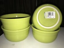 Fiesta Ware Set Of 4 NEW Lemongrass Gusto Bowls 28oz