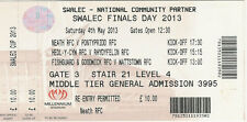 Neath v Pontypridd 4 May 2013 WELSH CUP FINAL RUGBY TICKET