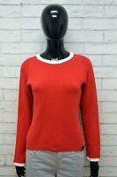 Tommy Hilfiger Maglione Felpa Donna Taglia M Pullover Sweater Cardigan Cotone