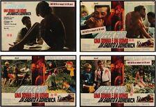 WEEKEND Italian fotobusta photobusta movie posters x4 JEAN-LUC GODARD DARC YANNE