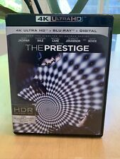 The Prestige (4k UHD, Blu-ray) Discs Never Removed or Played MINT 💵