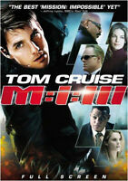 MISSION IMPOSSIBLE III 3 NEW DVD