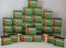 WATERPROOF MATCHES-30 BOXES OF 40+ OVER 1200 MATCHES-CANNOT LIGHT ACCIDENTALLY!