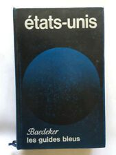 GUIDE BLEU ETATS UNIS  1976 GUIDES BLEUS HACHETTE BAEDEKER