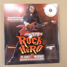 guitar FROM ZERO to ROCK HERO in just 6 weeks ! incl. CD