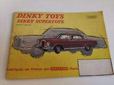 Catalogue Dinky Toys 1963 Original