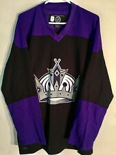 Reebok NHL Jersey Los Angeles Kings Team Black sz L
