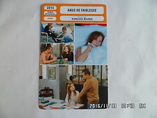 CARTE FICHE CINEMA 2014 ABUS DE FAIBLESSE Isabelle Huppert Kool Shen L.Ursino