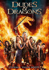 Dudes and Dragons (2015) PRINCESS KEPT CHAINED THROUGHOUT THE FILM DVD