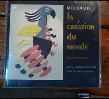 Classic Records LP 1rst Ed. Milhaud La creation du Monde Boston Symph. Lds-2625