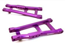 Integy Aluminum Rear Lower Arms Traxxas Rustler Stampede 2WD VXL Purple