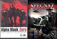 Specnaz progetto Wolf & Alpha Black Zero NUOVO e SIGILLATO