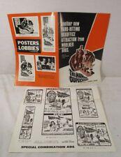 VINTAGE 1965 The Human Duplicators SCI-FI MOVIE POSTER ADVERTISING PRESSBOOK