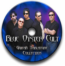 BLUE OYSTER CULT ROCK GUITAR TAB TABLATURE SONG BOOK ANTHOLOGY SOFTWARE CD