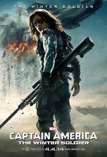 Poster A3 Capitan America Soldado De Invierno / Winter Soldier 02