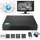 HD 1080P 8CH Network CCTV Video Recorder H.264 NVR ONVIF P2P Cloud HDMI VGA USB