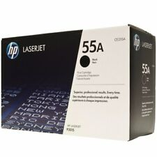 HP 55A CE255A GENUINE Toner Cartridge (New Open Box)